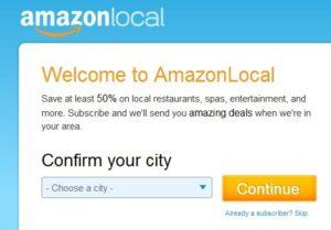 Starker Wettbewerb für Groupon: Amazon startet AmazonLocal