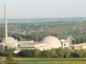 Ausstieg aus Atomenergie - Atomkraftwerk