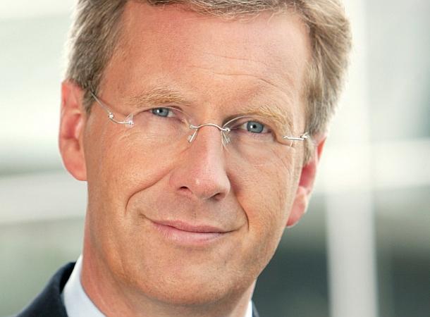 Christian Wulff sieht Europa als starken Partner.