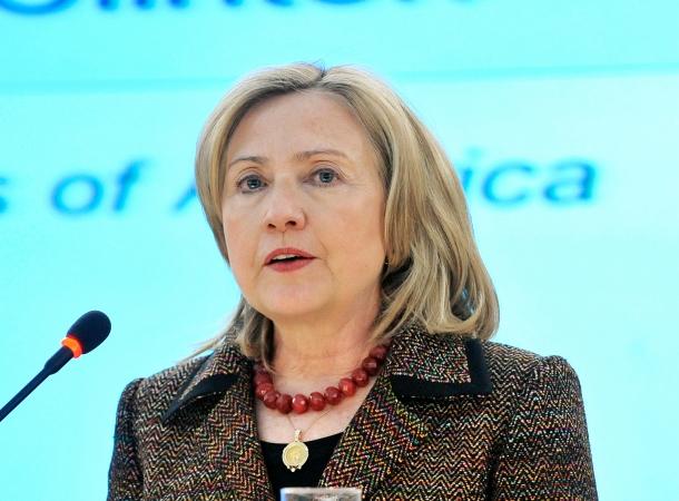 Hillary Clinton sieht den syrischen Präsidenten Baschar al-Assad für Gewaltopfer verantwortlich.