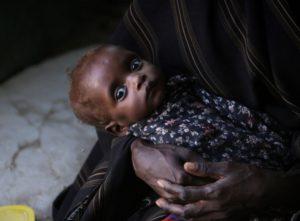 Finanzielle Hilfe gegen die Hungersnot am Horn von Afrika