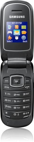 Samsung-E1150: Klapphandy mit Diebstahlschutz