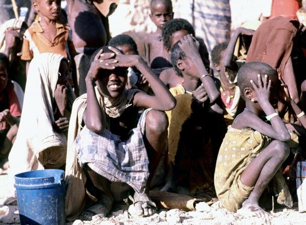 Hilfslieferungen für Opfer von Hungersnot in Somalia