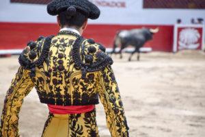 Der Stierkämpfer Juan José Padilla feierte sein Comeback mit einer schwarzen Augenklappe