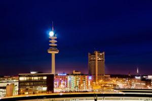 Hannover im Dunkeln: Nach einem Stromausfall kam es zu Plünderungen