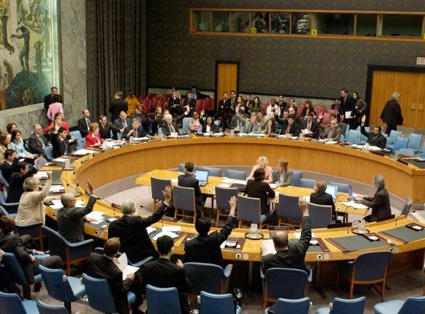 UN-Sicherheitsrat: Palästinenser könnten eigenen Staat gründen.