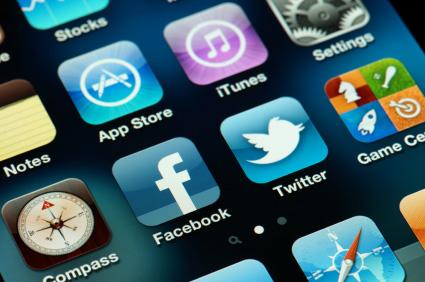 Übersicht über einige Apps aus dem App-Store auf einem iPhone 4